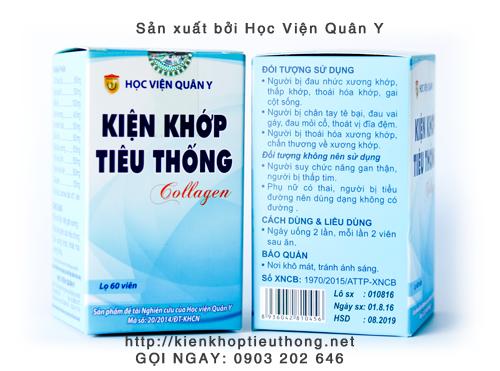 Kiện khớp tiêu thống collagen ở Thạch Thất, Hà Nôi